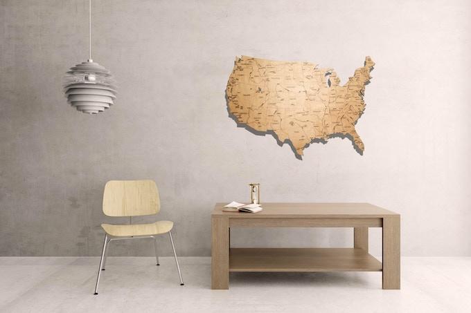 """USA (23"""" x 35"""")"""