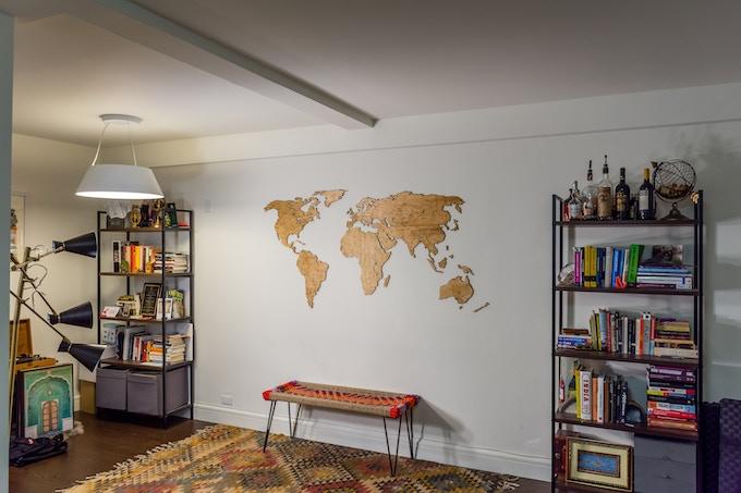 """Extra Large World Map (36"""" x 72"""")"""
