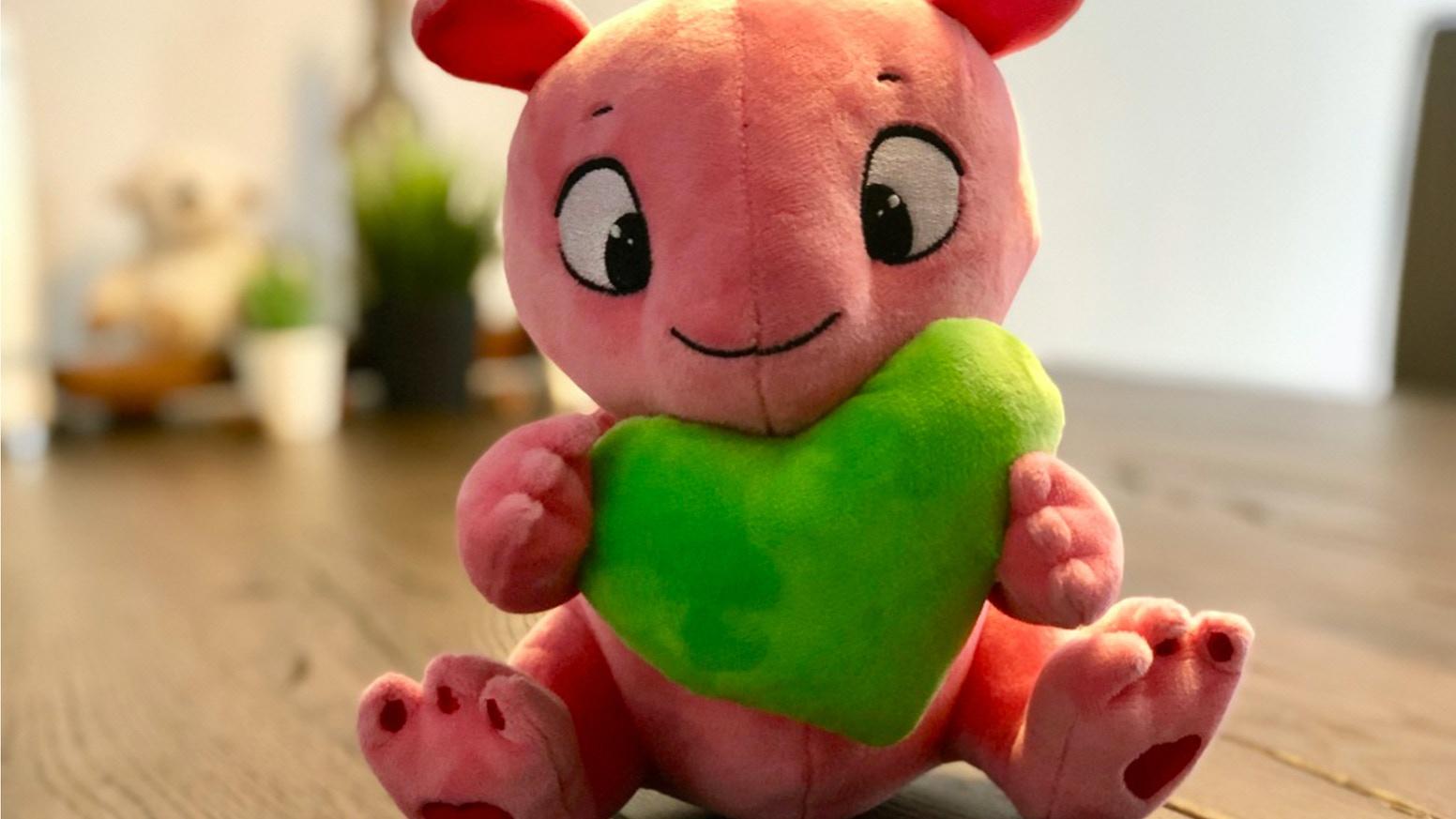 Das Kaugummitier mit #grün Herz der SimFans.de Community wird wahr!Update: Jetzt im Shop erhältlich!