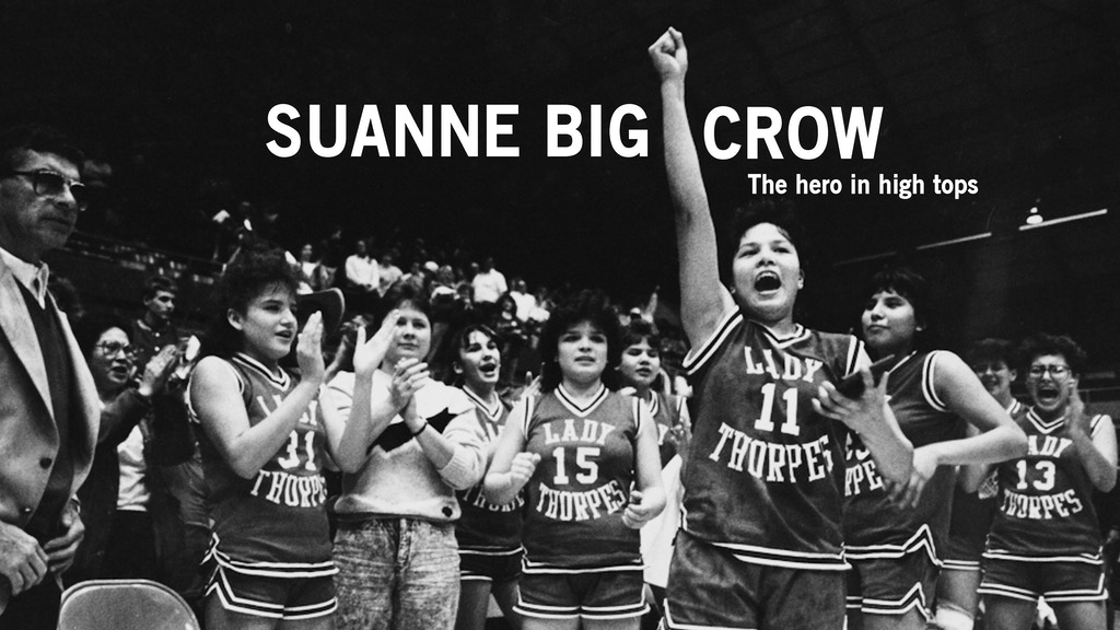 "SUANNE BIG CROW - ""The hero in high tops"" project video thumbnail"