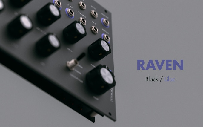 RAVEN, Black / Lilac