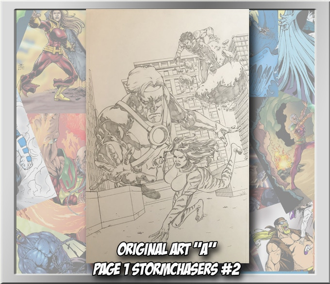 Original art form Stormchasers #2, page 1
