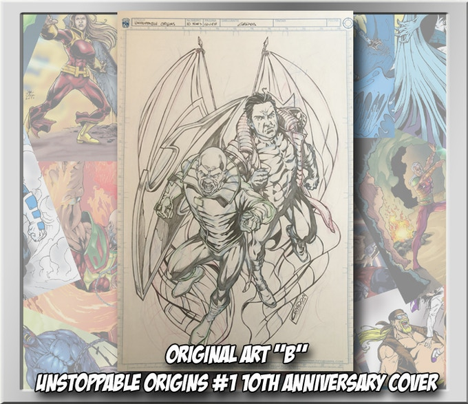 Unstoppable Origins #1 10th anniversary cover