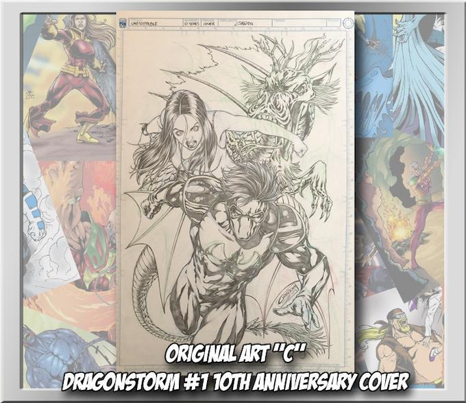Dragonstorm #1 10th anniversary cover