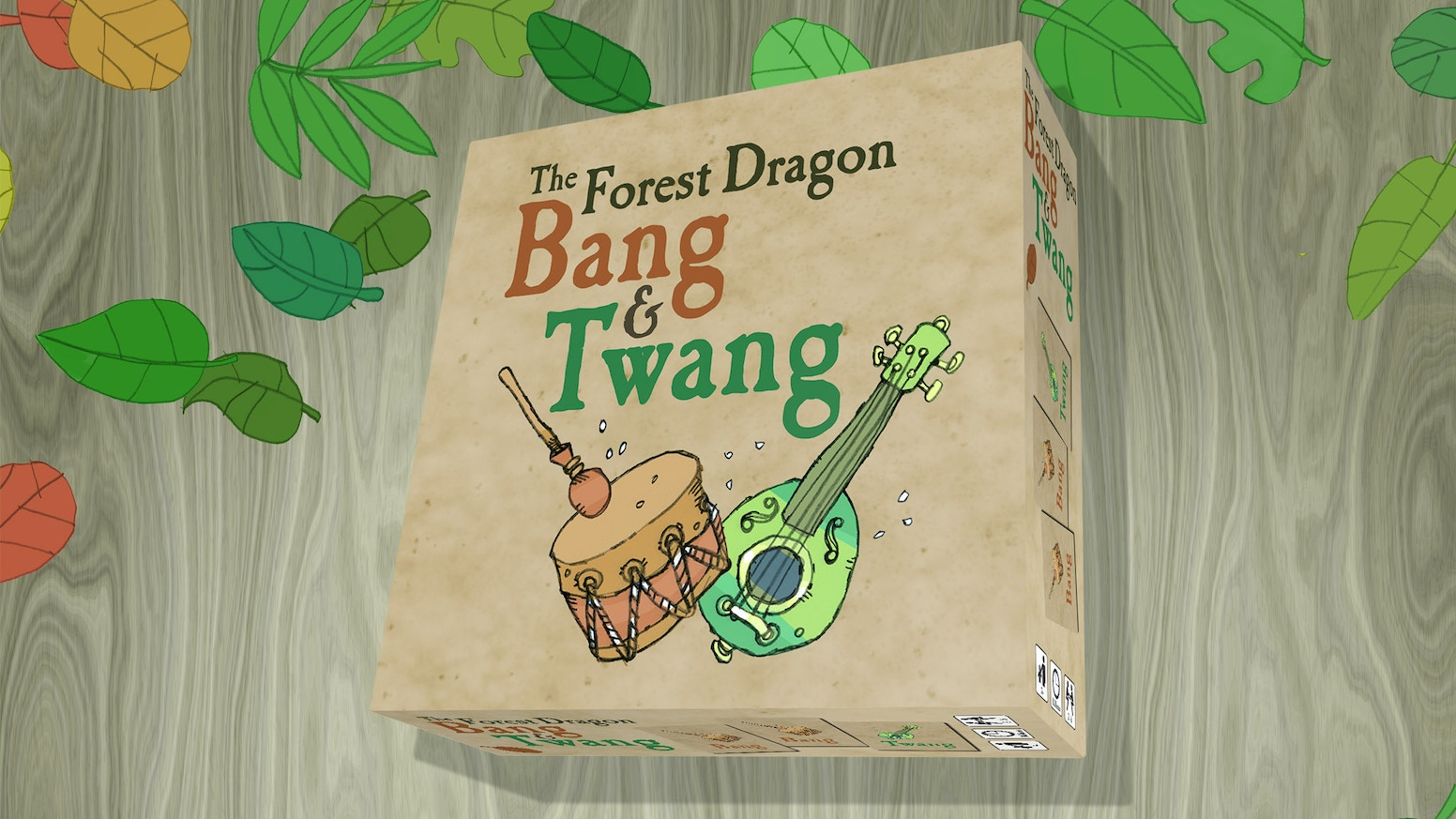 From the team who brought you The Forest Dragon by Rory, a brand​ new Forest Dragon card game!