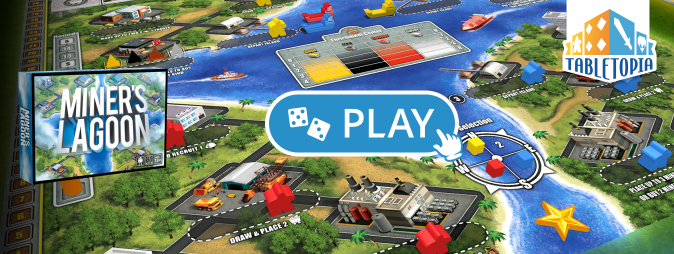 Play Miner's Lagoon on Tabletopia
