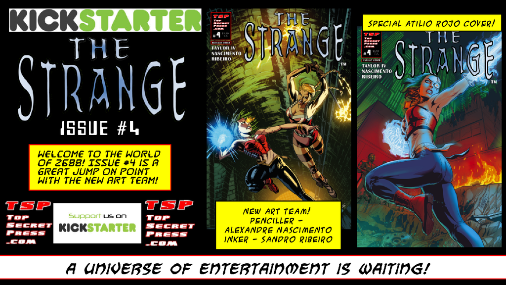 Project image for The Strange #4
