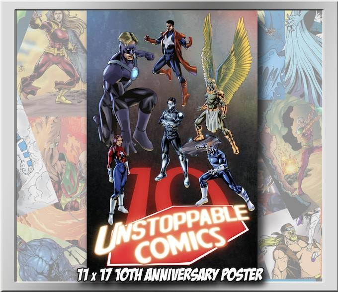 11 x 17 10th Anniversary poster