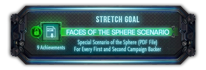 Every backer from both the first and second campaign will now receive this new special scenario via PDF file.