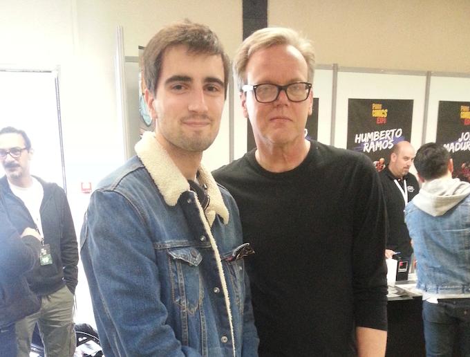 rencontre avec Bruce Timm (co-créateur: Batman la série animée)
