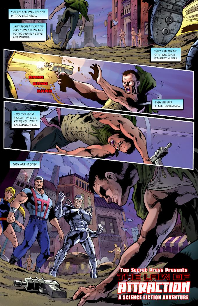 The Strange #2, Page #2