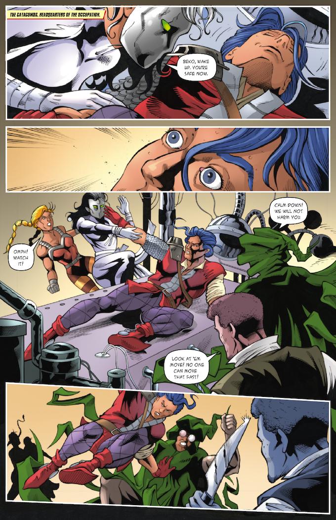 The Strange #3, Page 4