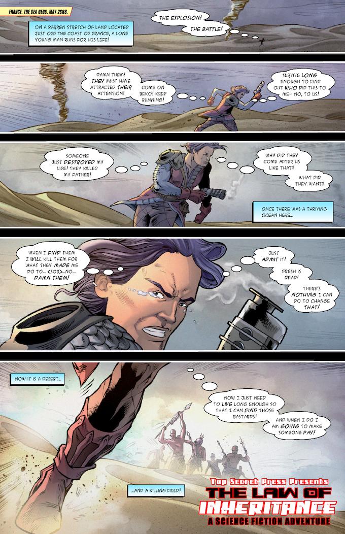 The Strange #1, Page 2