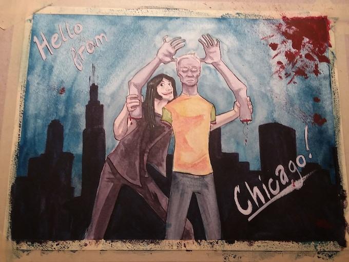Chicago! - by Katrina Kunstmann - $100