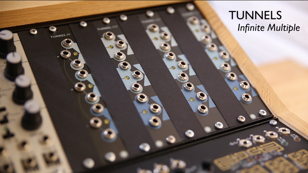 TUNNELS - Infinite Multiple for Eurorack Synthesizers project video thumbnail