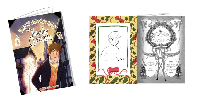 The comic, with colour bookplate and exclusive sketch.
