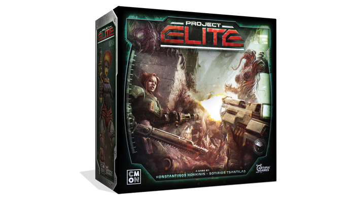 Join the ranks of Project: ELITE to defend our planet from a massive Alien invasion in this frantic real-time cooperative board game!