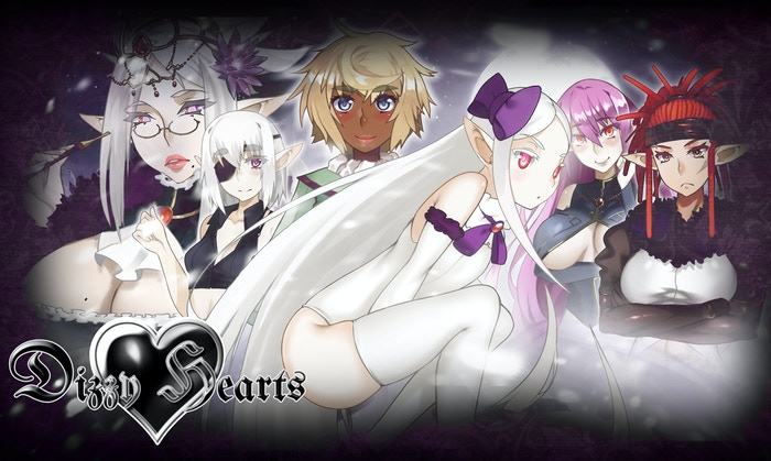 Dizzy Hearts is the story of a young girl who travels far from home. She meets Mercilia, a young elf at odds with her destiny.