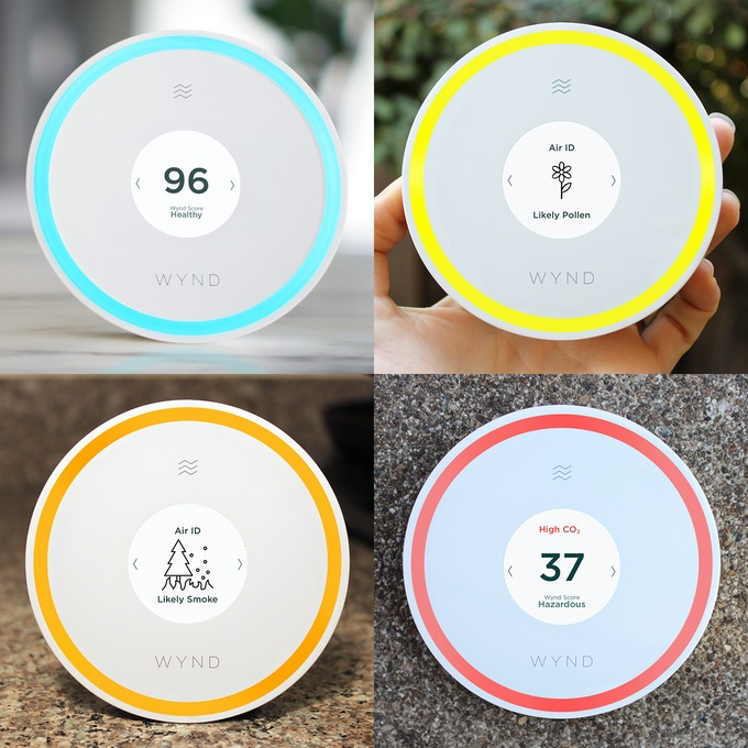 Halo shows the state of the air and identifies specific irritants in your environment so that you can take the right course of action.