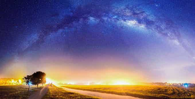 Seeing the Milky Way for the first time is an out of this world experience