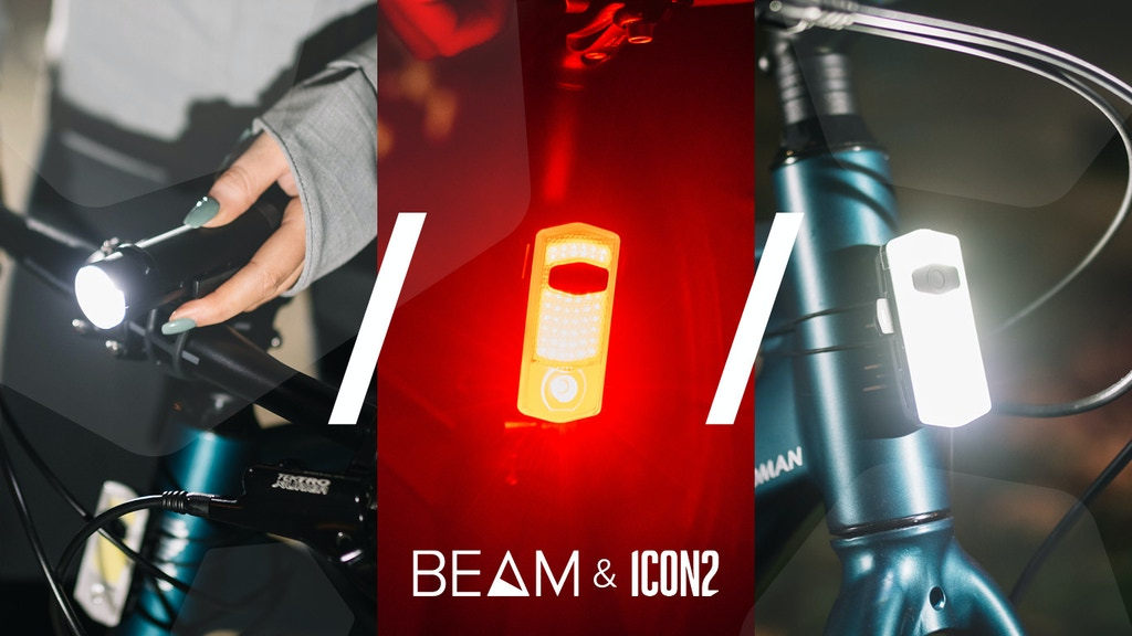 See Sense BEAM & ICON2 - Our brightest bike lights yet project video thumbnail