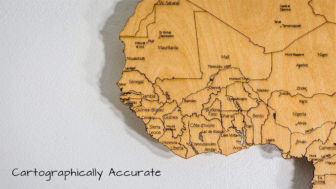 "Africa (23""x35"")"