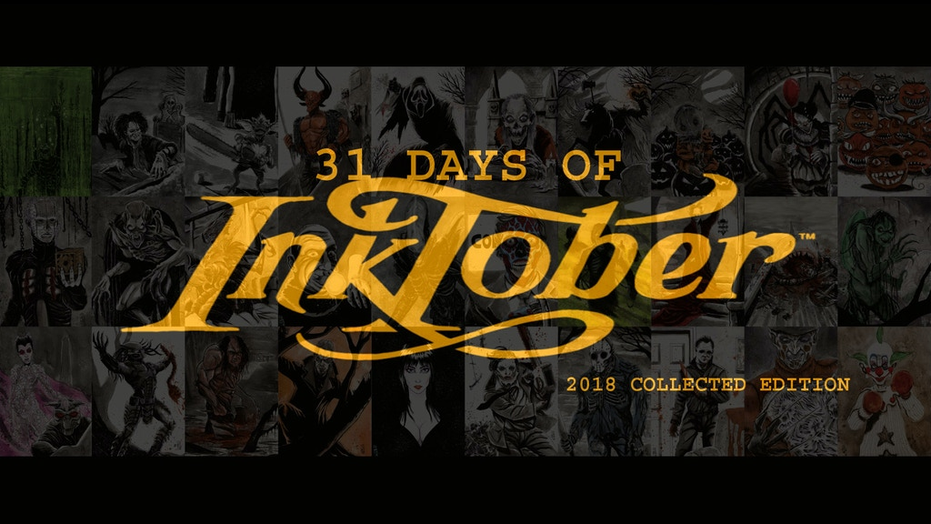 31 DAYS OF INKTOBER - 2018 COLLECTED EDITION project video thumbnail