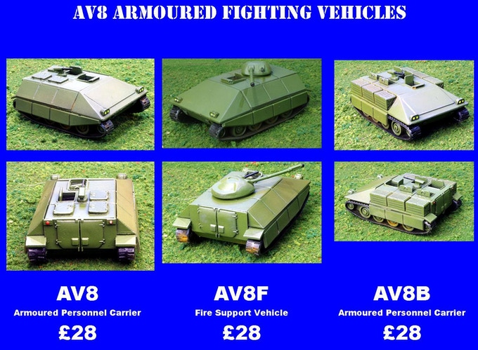 AV8 Series Armoured Fighting Vehicles
