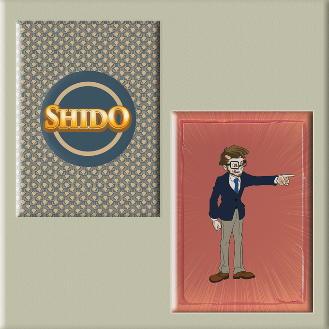 Every time you land in shido box, you get a penalty card
