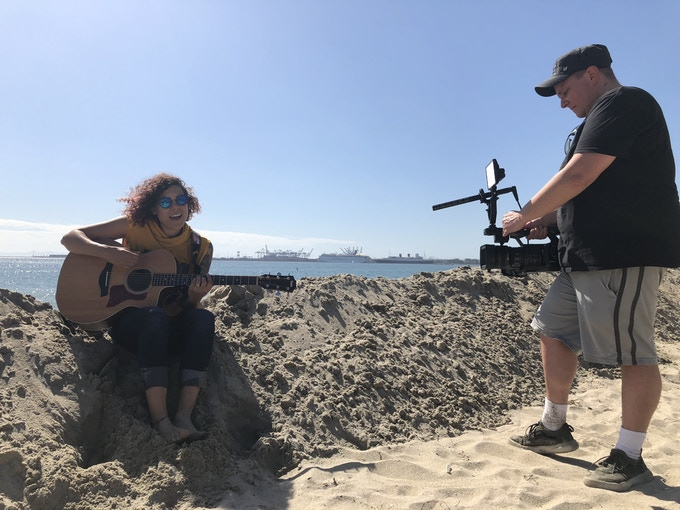 Filmmaker (seriously! Netflix and all) Michelle Ehlen will film a music video for the new record