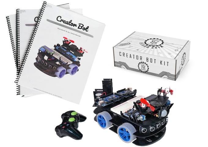 Mars Rover Creator Bot Full-Kit