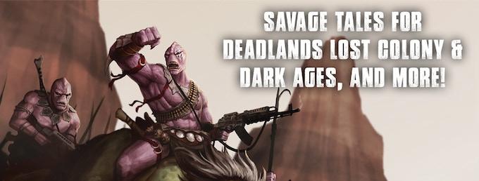 Savage Worlds Adventure Edition by Shane Hensley — Kickstarter