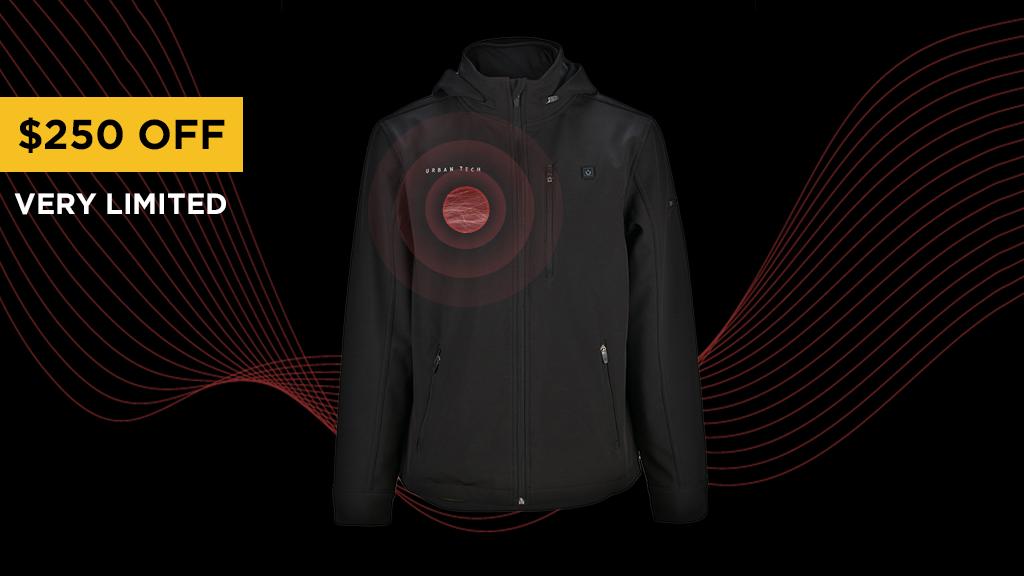 The World's First Nano-Tech Heated Jacket: Urban Tech project video thumbnail