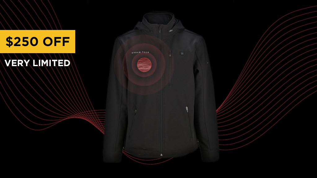 The World's First Nano-Tech Heated Jacket: Urban Tech project video thumbnail