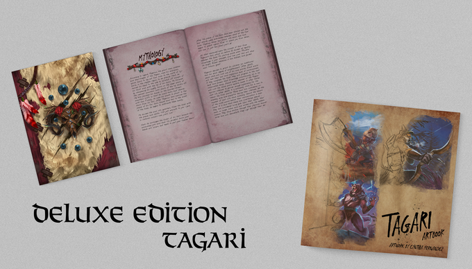 ADDITIONS FOR KS DELUXE EDITION TAGARI