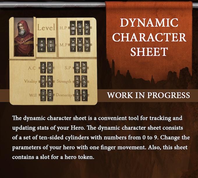 Dynamic Character Sheet