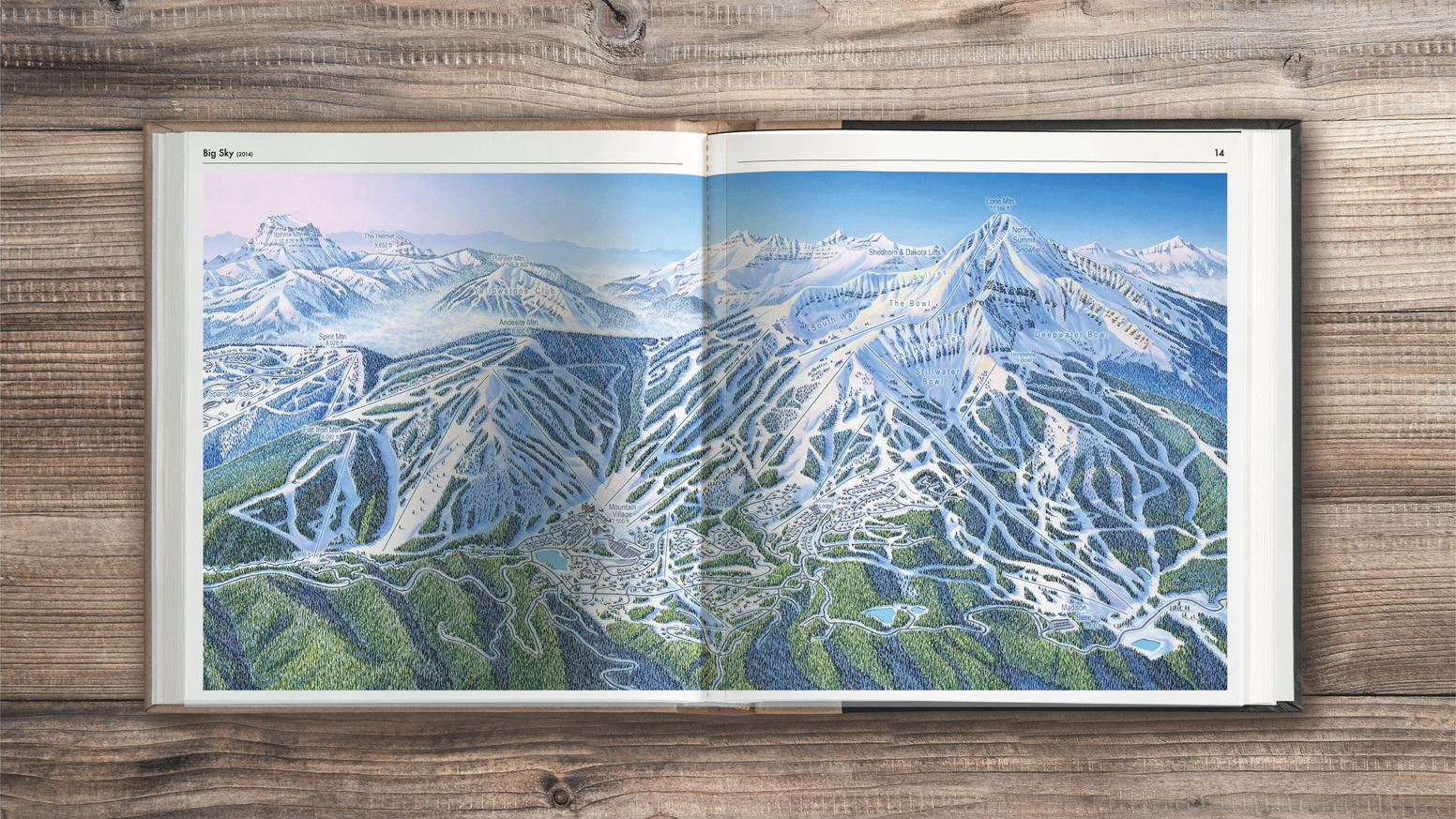 #1 Kickstarter Art Illustration Campaign of All Time!  Featuring a Hardcover Coffee Table Book and Art Prints covering nearly 200 ski resorts hand-painted by legendary artist James Niehues