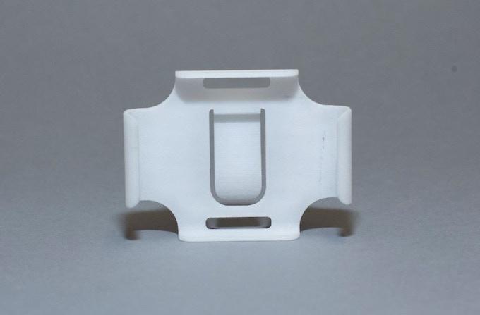 Prototype of the Flashlight clip