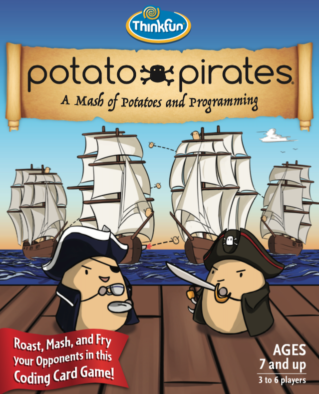 POTATO PIRATES - NOW AVAILABLE ON THINKFUN