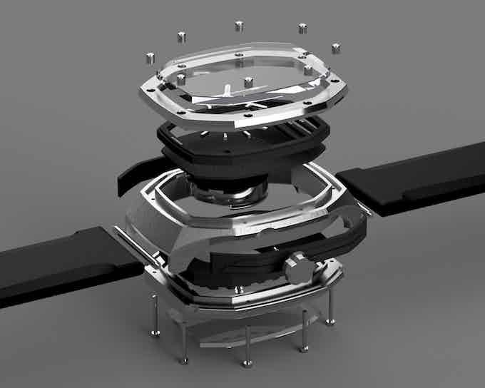 Modern engineering meets watchmaking