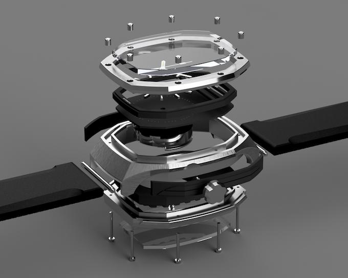 Modern engineering meets watchmaking