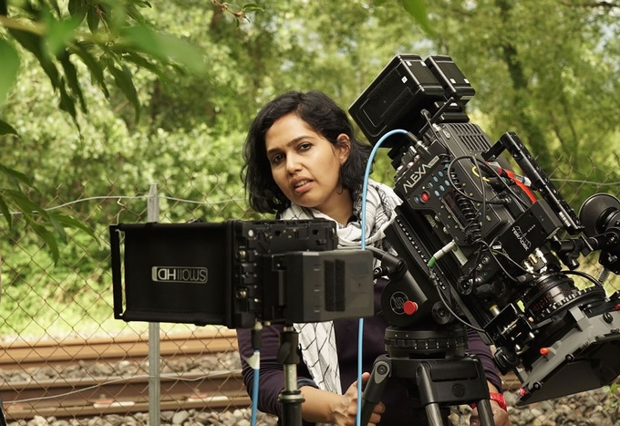 Director of Photography Nausheen Dadabhoy