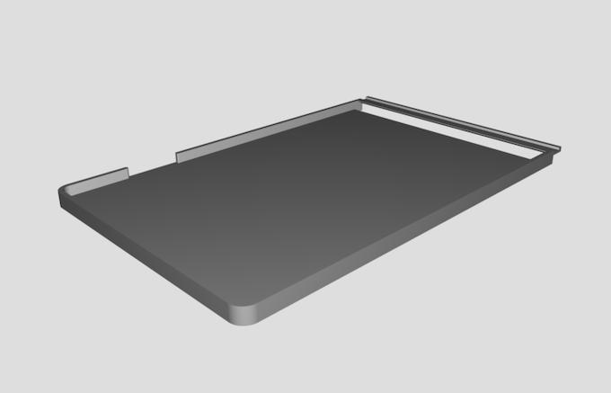 An early model frame
