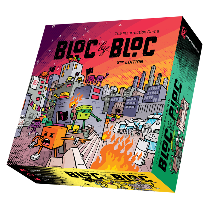 Light the fires of resistance in this exciting update of the groundbreaking, semi-cooperative game inspired by social insurrection. Available now at outofordergames.com!