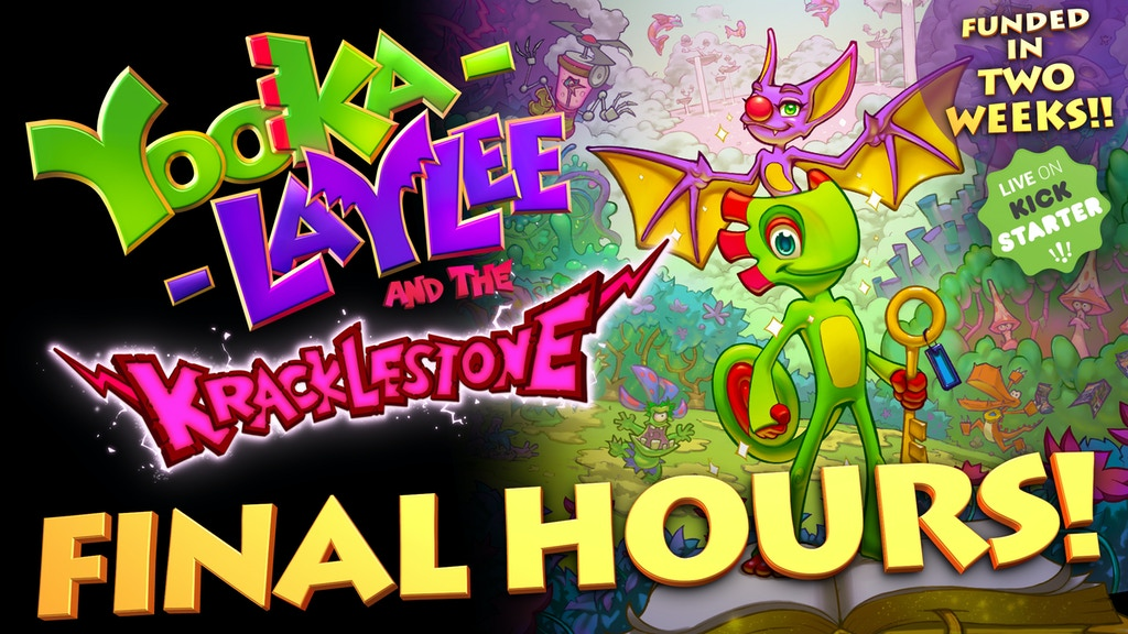 Yooka-Laylee and the Kracklestone project video thumbnail
