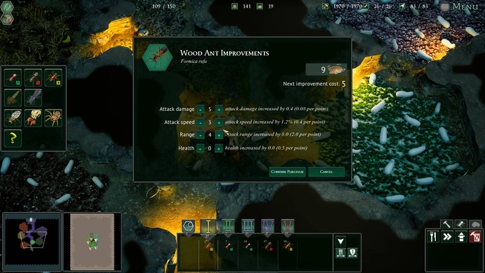 Empires of the Undergrowth: Rise of the Colony by Slug Disco Studios