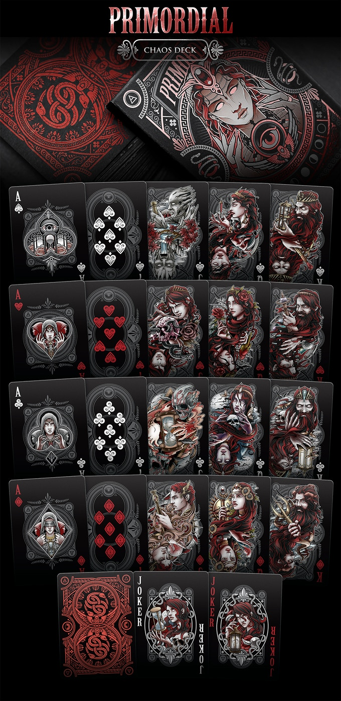 Primordial Playing Cards (Chaos Deck)