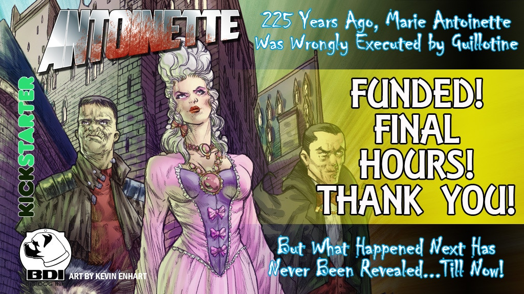 ANTOINETTE: LONG LIVE THE QUEEN #1 project video thumbnail