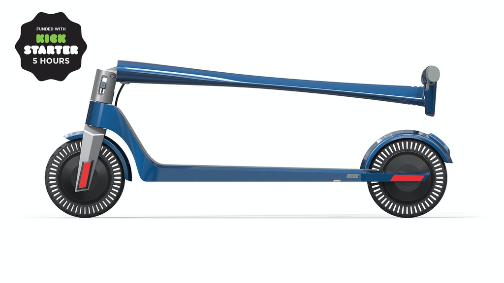 Unagi: The Ultimate Electric Scooter project video thumbnail