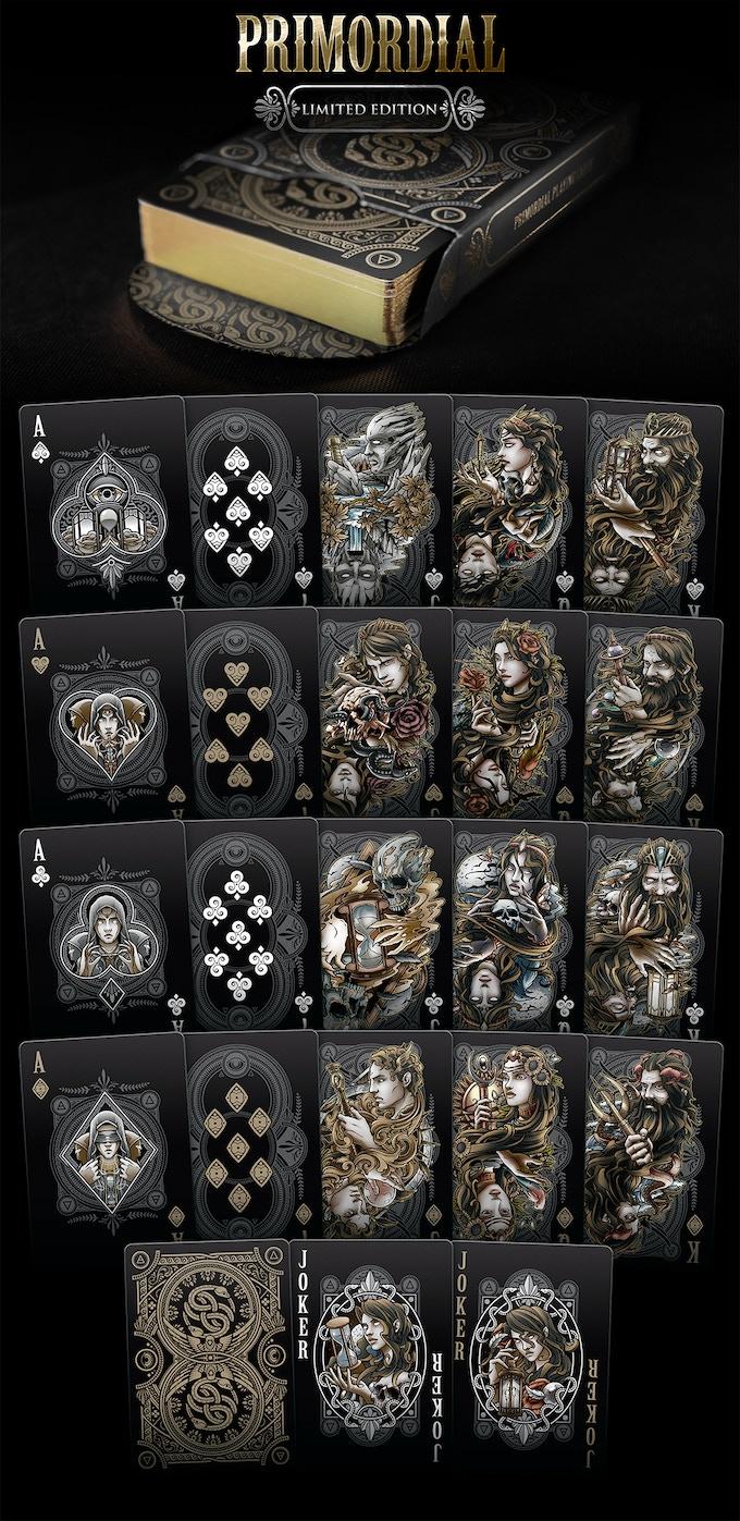 Primordial Playing Cards (Pantheon Edition)